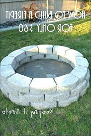 natural gas fire pit installation instructions gallery from diy kit