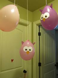 Party Decorations  Purple Owl Baby Shower Decorations Purple Baby Owl Baby Shower Decor