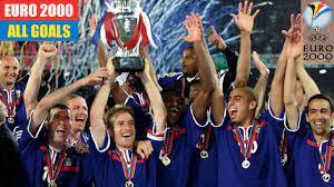 UEFA Euro 2000 in Belgium/Netherlands. All Goals. - YouTube