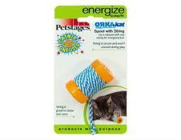 """<b>Petstages игрушка для кошек</b> """"ОРКА- катушка с веревочкой"""" 6см ..."""