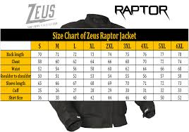 What Is A Zeus Chart Motorcycle Summer Touring Jacket Zeus Light V2 0 Mesh