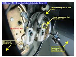 car door latch assembly. 2000 Accord Coupe Driver Door Locked Up. Need Help - Honda-Tech Honda Forum Discussion Car Latch Assembly