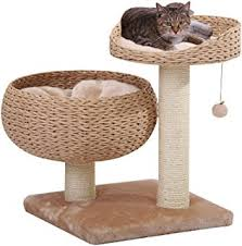 recycled paper furniture. petpals paper rope natural bowl shaped with perch cat tree recycled furniture