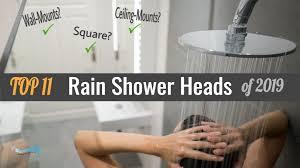 best rain shower heads reviews 2019 featured image