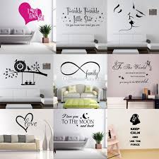 new wall quotes decal words lettering saying wall decor sticker vinyl wall art stickers decals hot sale vinyl stickers wall vinyl tree wall decals from  on vinyl wall art words stickers with new wall quotes decal words lettering saying wall decor sticker