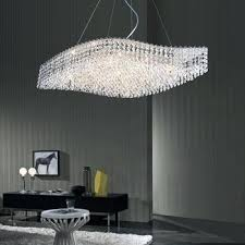 costco light wave shaped 9 light crystal chandelier costco lighting by pecaso