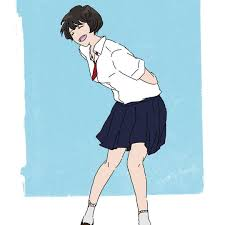 Makinonoma 夏が終わる前に夏のショート女子を投下 イラスト 絵