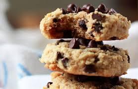 Soft Baked Almond Flour Chocolate Chip Cookies Kitchen Treaty