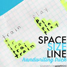 Graph Paper Letter Spacing Handwriting Trick The Ot Toolbox