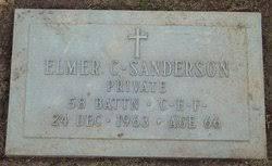 PVT Elmer Clyde Sanderson (1897-1963) - Find A Grave Memorial
