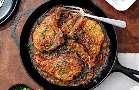 smothered pork chops recipe nyt cooking