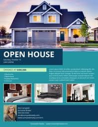 open house flyers template free printable flyer templates examples 15 free templates