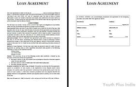 Cash Loan Agreement Sample Delectable Personal Loan Contracts Colbroco