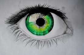 Image result for green eyes painting