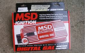 mustang msd 6al ignition box 1965 1995 installation instructions mustang msd 6al ignition box install image