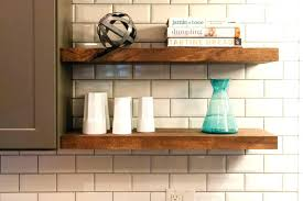 How To Make Solid Wood Floating Shelves Stunning Thick Floating Shelves Thick Wood Floating Shelves Large Size Of
