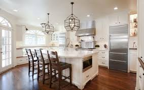 Recessed Lighting Placement Kitchen Traditional With High Back Bar Stools  Top Kitchen Islands