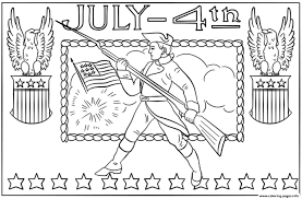 4th Of July Independence Day Coloring Pages Printable