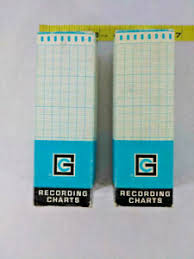 Details About Lot Of 2 Graphic Controls Recording Chart Paper Roll Model 54 100 New Old Stock