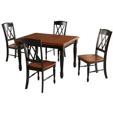 Home Styles 5008 308 Monarch Rectangular Dining Table And 4 Double X
