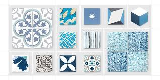 cement tiles blue mosaic factory