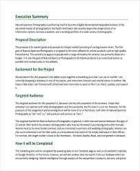 Market summary in a marketing plan