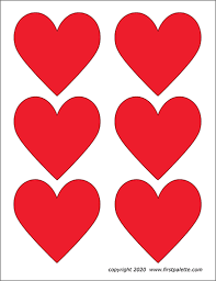 We have prepared coloring pages with different types of hearts for little artists. Hearts Free Printable Templates Coloring Pages Firstpalette Com