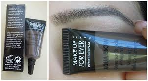 make up for ever aqua brow waterproof eyebrow corrector 1 make up for ever aqua brow