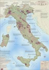 Wine Designation Premier Italy Wine Regions Map Premium Italy Wine Map Italy Map