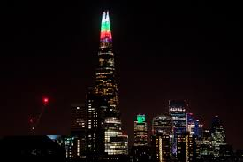 The Shard London Christmas Lights Christmas Lights 2019 Switch On Dates From Londons Regent