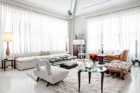Home Design: Mid Century Modern Living Room With White Living Room ...