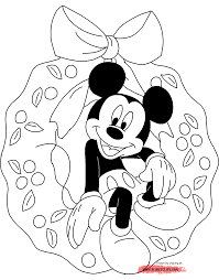 Small Picture Disney Christmas Coloring Pages 2 Christmas Fun at Disneys