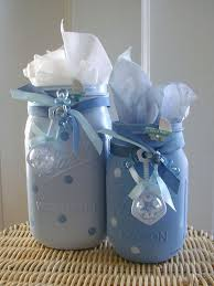 Decorating Mason Jars For Baby Shower baby shower ideas with mason jars best 100 ba shower centerpieces 13