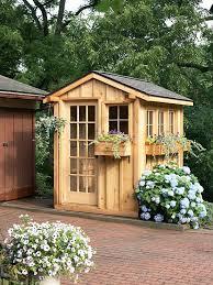 prefab garden shed