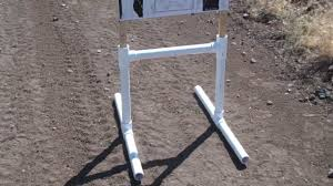 pvc target stand you