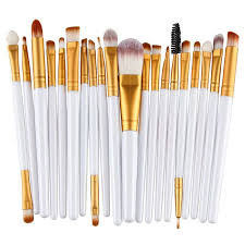 makeup brushes with powder. 20pcs eye makeup brushes set eyeshadow blending powder foundation with