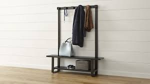 Storage Bench And Coat Rack Brilliant Entryway Bench Coat Rack Plan Small Home Ideas With And 78