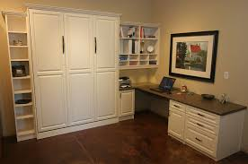 murphy bed in office. California Closets Murphy Bed Color In Office