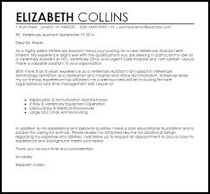 Vet Tech Assistant Cover Letter 93 Images Cover Letter Example