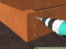 how to make a raised vegetable garden. Modren Make Image Titled Build Raised Vegetable Garden Boxes Step 4 For How To Make A R