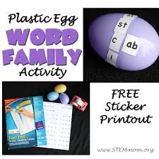 Word Families Template Dr Stem Mom Word Family Free Sticker Templates