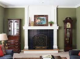 Olive Green Living Room Tallgrass Design July 2013