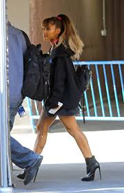 ariana grande madison square garden. Perfect Madison Ariana Grande Walking Into Madison Square Garden 15 To Grande A