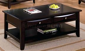 espresso coffee table with storage coffee table espresso coffee table throughout espresso coffee table and end