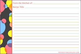 printable blank recipe cards 40 recipe card template and free printables tip junkie threeroses us