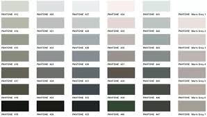 50 Shades Of Gray Color Chart 55 Studious Paint Colour Chart With Names