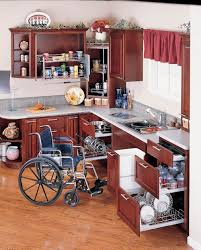 This Kitchen Functions For Everyone With Wheelchair Accessible Cabinetry