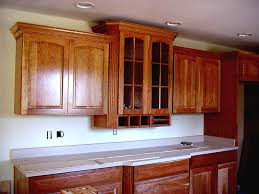 Kitchen Crown Molding Kitchen Astounding Crown Kitchen Cabinets For Your Home Oak