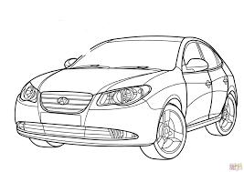 Hyundai Elantra Coloring Page Free Printable Pages On Ferrari