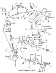 ford 8n 9n 2n assemblies ford 8n steering gear 1950 1952 related
